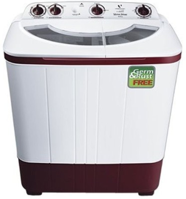 Videocon 6 kg Semi Automatic Top Load Washing Machine White (VS60A12)
