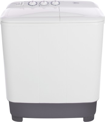 Midea 6.5 kg Semi Automatic Top Load Washing Machine (MWMSA065M02)