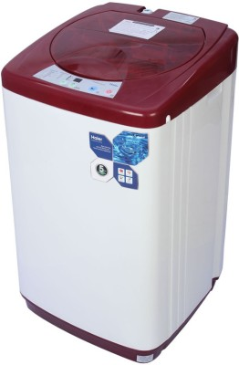 Haier 5.8 kg Fully Automatic Top Load Washing Machine Red (HWM58-020-R)