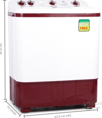Videocon 6 kg Semi Automatic Top Load Washing Machine (Typhoon Plus WM VS60B11-DM)
