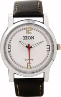 ZION 363 22 Mm Synthetic Leather Strap Watch Strap Black