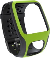 Tomtom Comfort Band Green 35 Mm Elastomer Watch Strap Bright Green