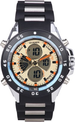 Quamer Wrist Watches SD 1103_SLOR BKSL SB