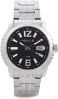 Police Analog Watch  - For Men - Silver - WATDTCXEY9YJ53FM
