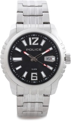 Police Police Analog Watch (Silver)