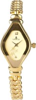 Lenco CPLENCOLADIESGOLDG Golden Beauty Analog Watch  - For Women