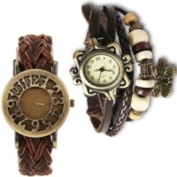 Geneva Time 039 Vintage Analog Watch  - For Girls, Women
