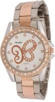 Felizer Rose Gold Diamond Analog Watch  - For Girls, Women