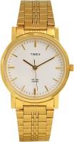 Timex Fek653 Gold Dial Analog Watch  - For Men