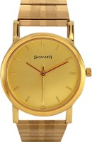 Sonata Bf12 Gold Plated Analog Watch  - For Men