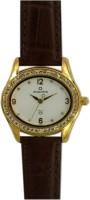 Maxima Gold Analog Watch  - For Women - Brown - WATDVNZGCDTZY4AB