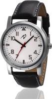 Yepme 71101 Elafa - White/Black Analog Watch  - For Men