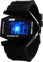 Skmei 0817B-Black Digital Watch  - For Men, Boys, Women, Girls