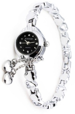 Kimio Elegant Hearts Analog Watch  - For Women