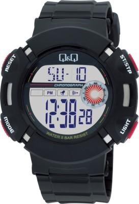 Q&Q Digital Watch   For Men Black available at Flipkart for Rs.955