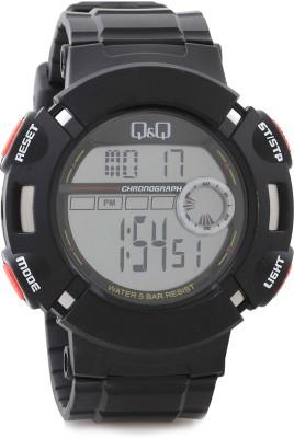 Q&Q Digital Watch   For Men Black available at Flipkart for Rs.598