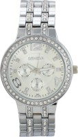 Geneva GEN-001 Forever Bling Silver Analog Watch  - For Women