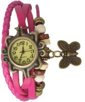 Everything Imported Sweet Butterfly Elegant Anitique Analog Watch  - For Women