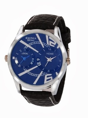 Exotica SXlines EF 80 Dual Blue Analog Watch    For Men available at Flipkart for Rs.899