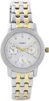 Timex Analog Watch  - For Women - Silver, Gold