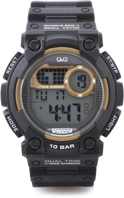 Q&Q Digital Watch   For Men Dark Grey available at Flipkart for Rs.775