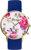 Style Fiesta JB155 Blue Floral Analog Watch  - For Women