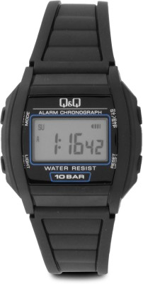 Q&Q Digital Watch   For Men Black available at Flipkart for Rs.590