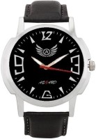 Asgard Black-002 Silver-01 Analog Watch  - For Men