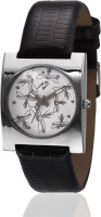 Yepme 70993 Queena - White/Black Analog Watch  - For Women