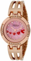 Exotica Fashions Analog Watch  - For Women - Gold