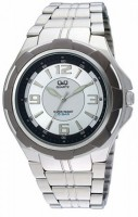 Q&Q Fiber Collection Analog Watch  - For Men - Silver