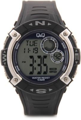 Q&Q Digital Watch   For Men Black available at Flipkart for Rs.620