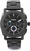 Fossil Machine Analog Watch - For Men Black