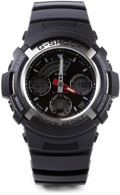 Casio G Shock Analog Digital Watch   For Men Black available at Flipkart for Rs.4745