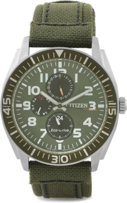 Citizen Eco-Drive Analog Watch - For Men Green