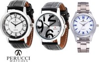 Perucci PC-115 & PC-126 & PC-390 Decker Analog Watch  - For Men
