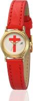 Yepme 68898 Cristina - White/Red Analog Watch  - For Women
