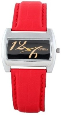 Optima Wrist Watches Oft_9070_red