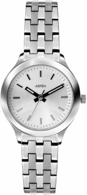 Aspen Aspen Analog Watch (Silver)