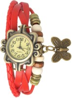 IBumpio Viser5 Red Party-Wedding Analog Watch  - For Women
