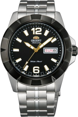 Orient Sporty Automatic Analog Watch Silver