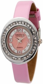 Exotica Fashions Wrist Watches EFL 52 Pink L