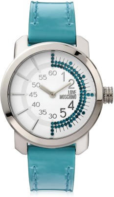 Moschino Moschino Tic-Toc Analog Watch (Turquoise)