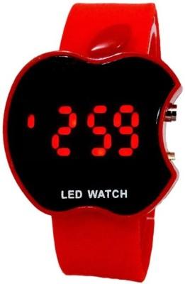 KMS Wrist Watches KMS Apple_Look_Led_Red Digital Watch For Men, Women, Girls, Boys