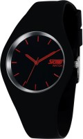 Skmei 9068C-Black-Red Casual Analog Watch  - For Men, Boys, Women, Girls