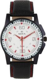 Nova Wrist Watches MT DOD WHT BLK 59