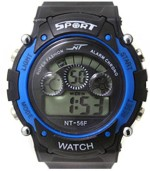 Hala Wrist Watches Hala Blue in Black Sport Digital Watch For Boys, Girls