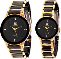 IIk Collection Couple Watch 013M-1002W Luxury Analog Watch  - For Men, Women, Boys, Girls