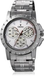 Calvino Wrist Watches CGAC 147019AT_White checkered