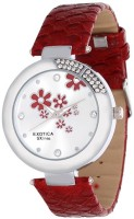 Exotica Fashions EFL-19-Red Ex Series Analog Watch - For Women